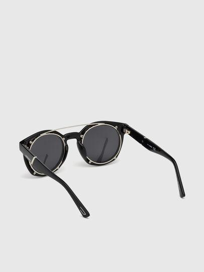 Diesel - DL0251, Nero Brillante - Occhiali da sole - Image 2