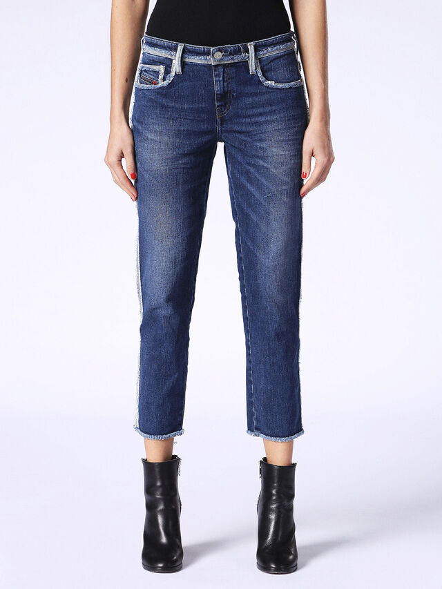 BELTHY-ANKLE-DSP 084HV, Blu Jeans