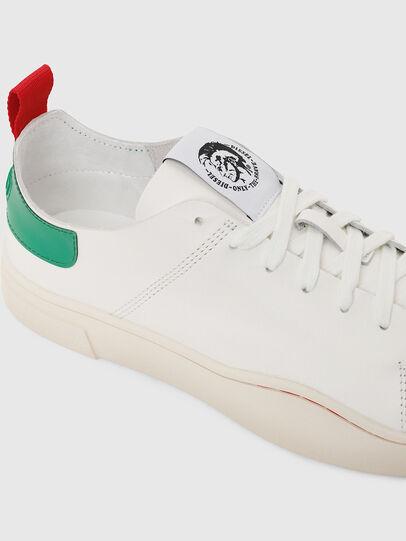 Diesel - S-CLEVER LS, Bianco/Verde - Sneakers - Image 5