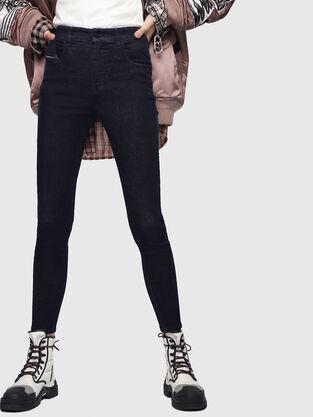 Slandy High 089AB, Blu Scuro - Jeans