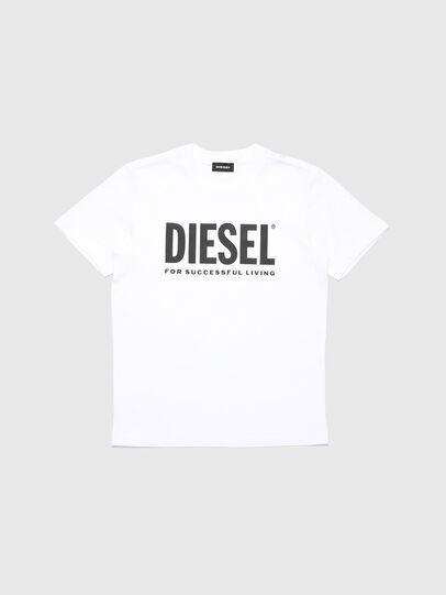 Diesel - TJUSTLOGO, Bianco - T-shirts e Tops - Image 1