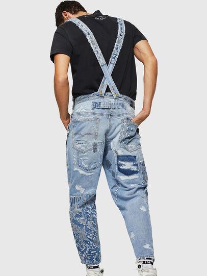 Diesel - D-HARU-SY, Blu Jeans - Tute e Salopette - Image 2