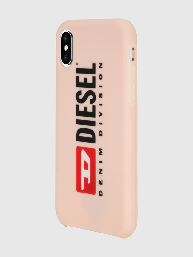 Diesel - DIESEL PRINTED CO-MOLD CASE FOR IPHONE XS & IPHONE X, Cipria - Cover - Image 6