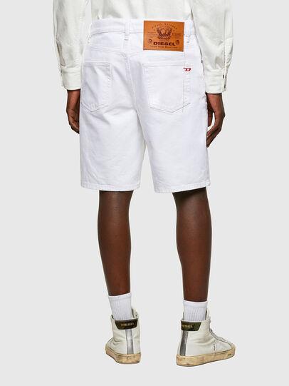 Diesel - D-STRUKT-SHORT, Bianco - Shorts - Image 2