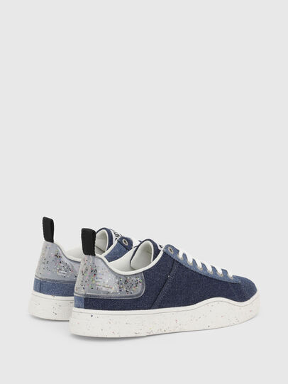 Diesel - S-CLEVER LOW LACE W, Blu - Sneakers - Image 3