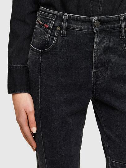 Diesel - Babhila 009UZ, Nero/Grigio scuro - Jeans - Image 3