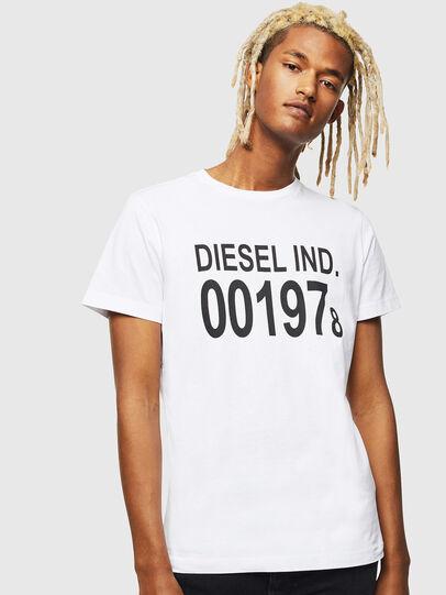 Diesel - T-DIEGO-001978, Bianco - T-Shirts - Image 1