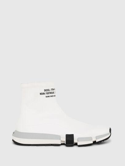 Diesel - H-PADOLA HIGH SOCK, Bianco - Sneakers - Image 1