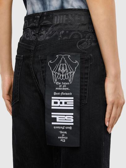 Diesel - D-Reggy 009LC, Nero/Grigio scuro - Jeans - Image 5