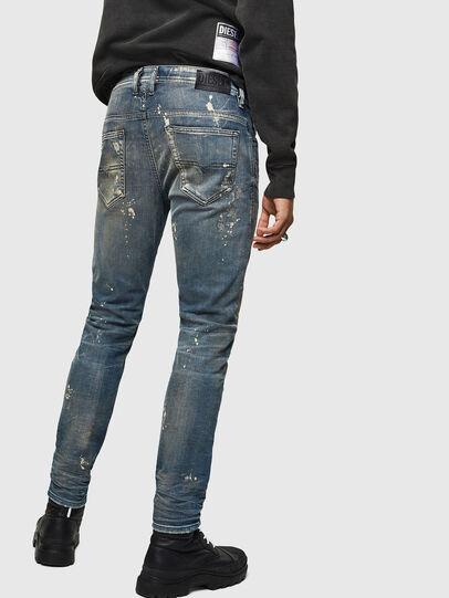 Diesel - Thommer JoggJeans 0870X, Blu medio - Jeans - Image 2