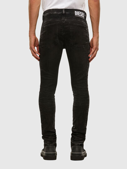 Diesel - D-REEFT JoggJeans® 009FY, Nero/Grigio scuro - Jeans - Image 2