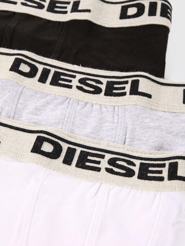 Diesel - UGOV THREE-PACK US, Bianco/Nero - Underwear - Image 4