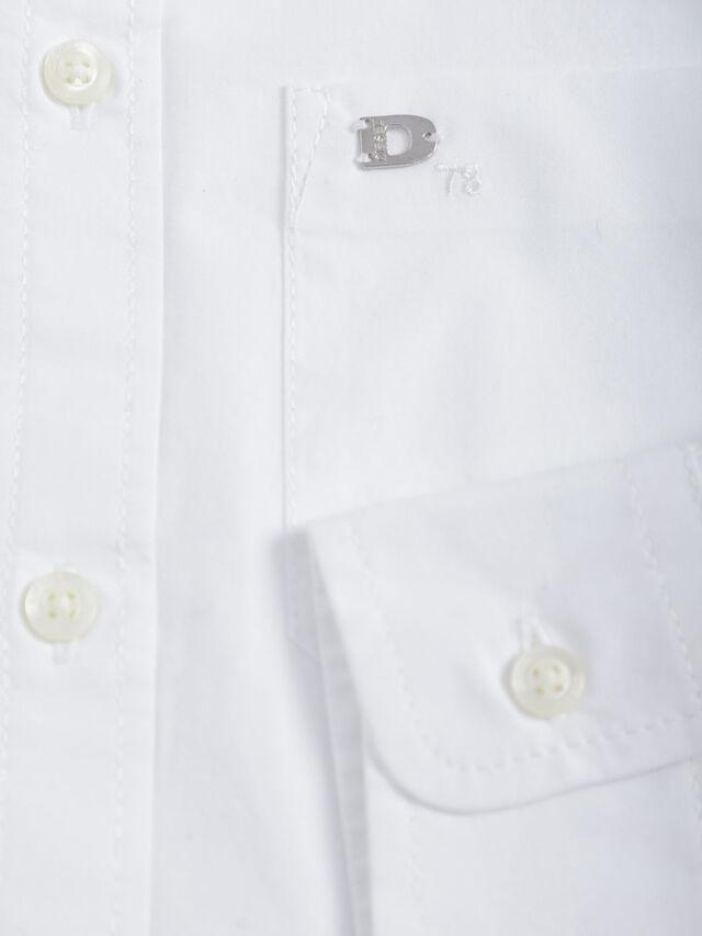 Diesel - CSMOI, Bianco - Camicie - Image 3