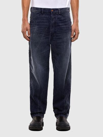 Diesel - D-Franky 009IY, Blu Scuro - Jeans - Image 1