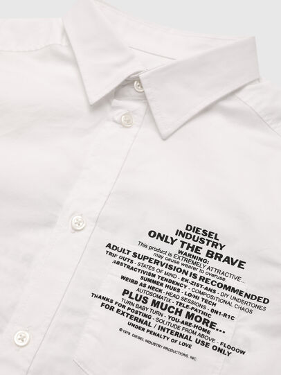 Diesel - CPROAD, Bianco - Camicie - Image 3