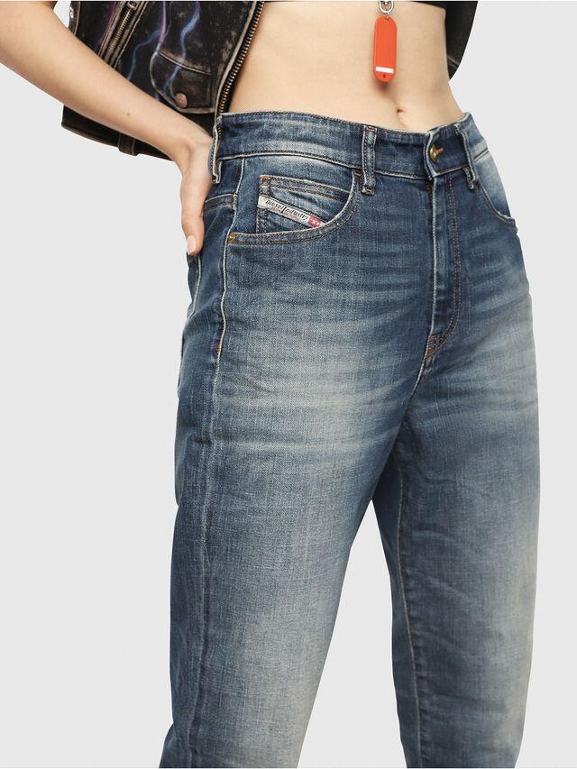 Diesel - D-Eiselle 089AR, Blu Scuro - Jeans - Image 3