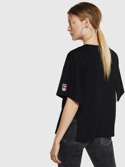 Diesel - T-JACKY-I, Nero - T-Shirts - Image 2