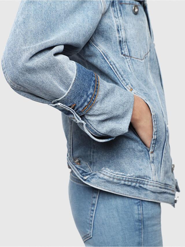 Diesel - DE-NALINI, Blu Jeans - Giacche in denim - Image 3