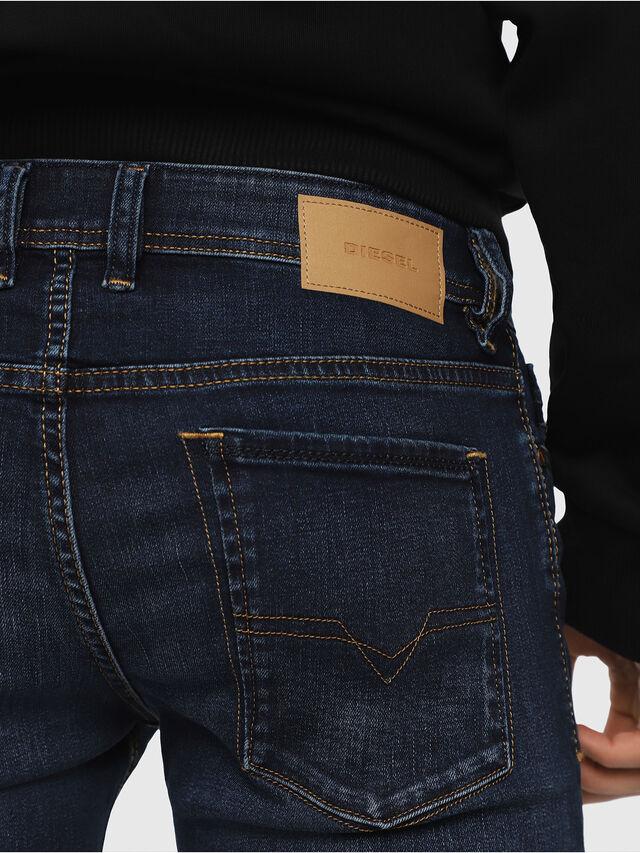 Diesel - Sleenker 084RI, Blu Scuro - Jeans - Image 3
