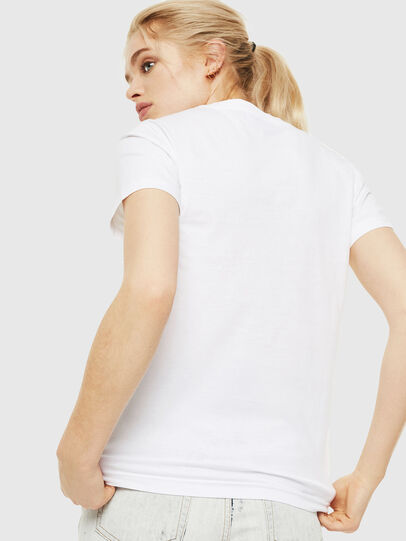 Diesel - T-SILY-WQ, Bianco - T-Shirts - Image 2