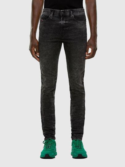 Diesel - D-Reeft JoggJeans 009FZ, Nero/Grigio scuro - Jeans - Image 1