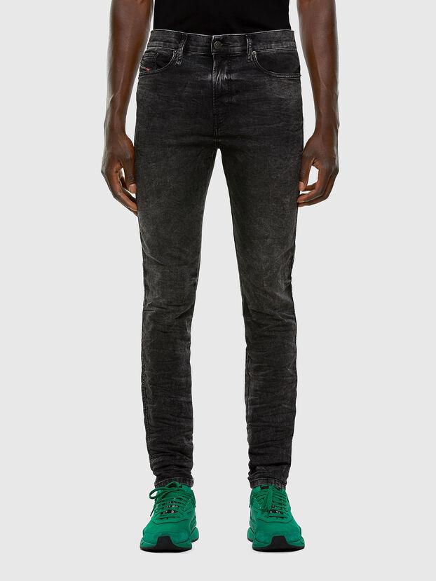 D-Reeft JoggJeans 009FZ, Nero/Grigio scuro - Jeans