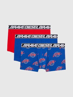 UMBX-DAMIENTHREEPACK, Blu/Rosso - Boxer stretch