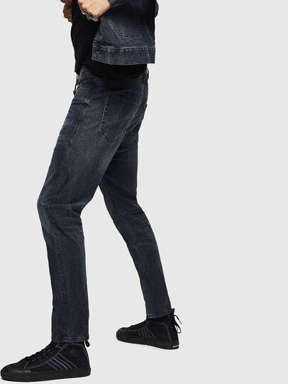 Diesel - D-Vider JoggJeans 0090H, Blu Scuro - Jeans - Image 4