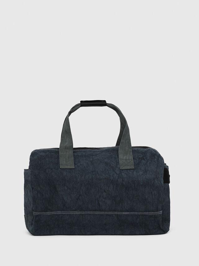 Diesel - D-THISBAG TRAVEL BAG, Blu Jeans - Borse da viaggio - Image 2