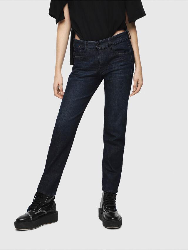 Diesel - D-Rifty 080AK, Blu Scuro - Jeans - Image 1