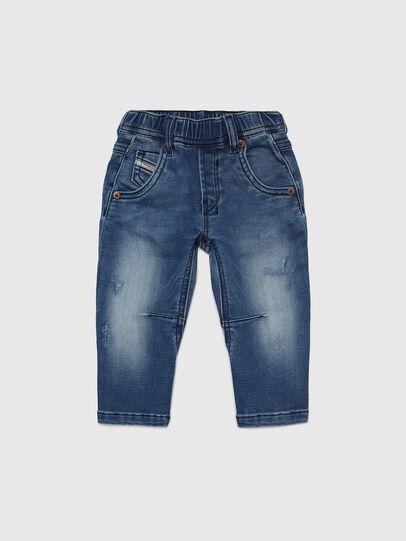 Diesel - FAYZA B JOGGJEANS-N, Blu medio - Jeans - Image 1
