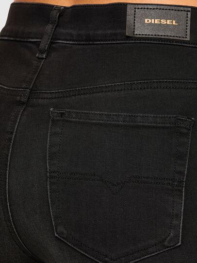 Diesel - D-Roisin High 069MZ, Nero/Grigio scuro - Jeans - Image 4