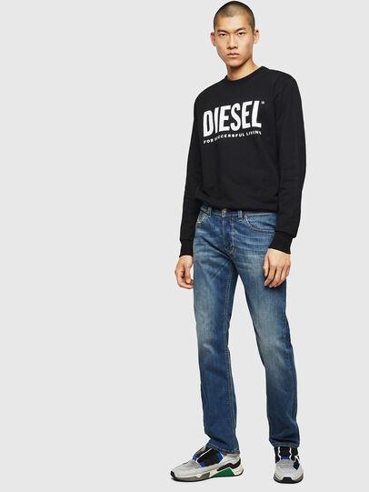 Diesel - Larkee 083AA, Blu medio - Jeans - Image 5