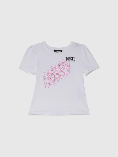 Diesel - TLOPPIB-R, Bianco - T-shirts e Tops - Image 1