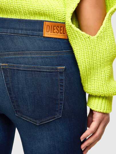 Diesel - D-Ebbey 009NM, Blu Scuro - Jeans - Image 4