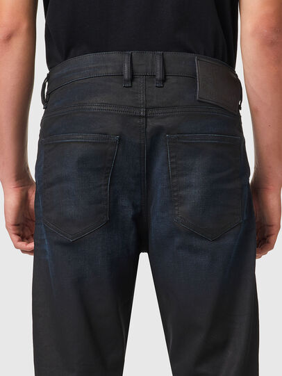 Diesel - D-VIDER JoggJeans® 069XN, Nero/Grigio scuro - Jeans - Image 4