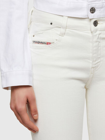 Diesel - D-Rifty 009VU, Bianco - Jeans - Image 3