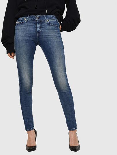Diesel - Slandy 083AQ, Blu medio - Jeans - Image 1