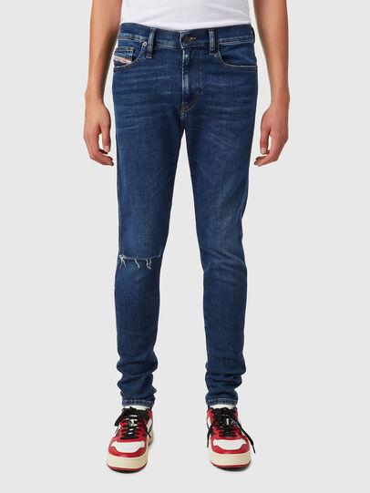 Diesel - D-Istort 09B31, Blu Scuro - Jeans - Image 1