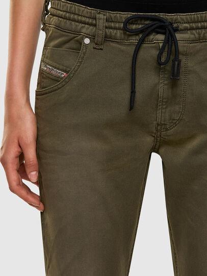 Diesel - Krailey JoggJeans® 0670M, Verde Militare - Jeans - Image 3