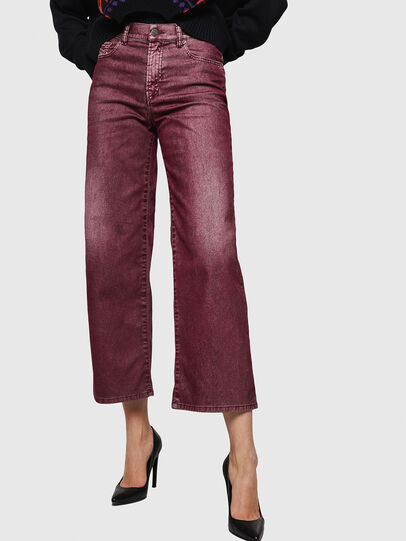 Diesel - Widee 0091T, Borgogna - Jeans - Image 1
