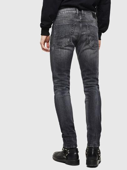 Diesel - Tepphar 0095J, Nero/Grigio scuro - Jeans - Image 2