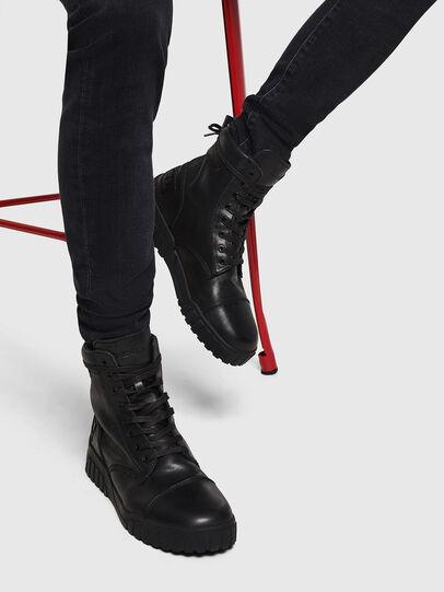 Diesel - H-RUA AM, Nero - Sneakers - Image 6
