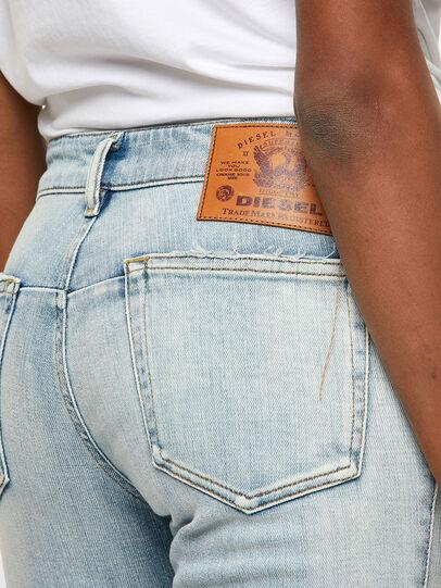 Diesel - D-Jevel 009PQ, Blu Chiaro - Jeans - Image 4