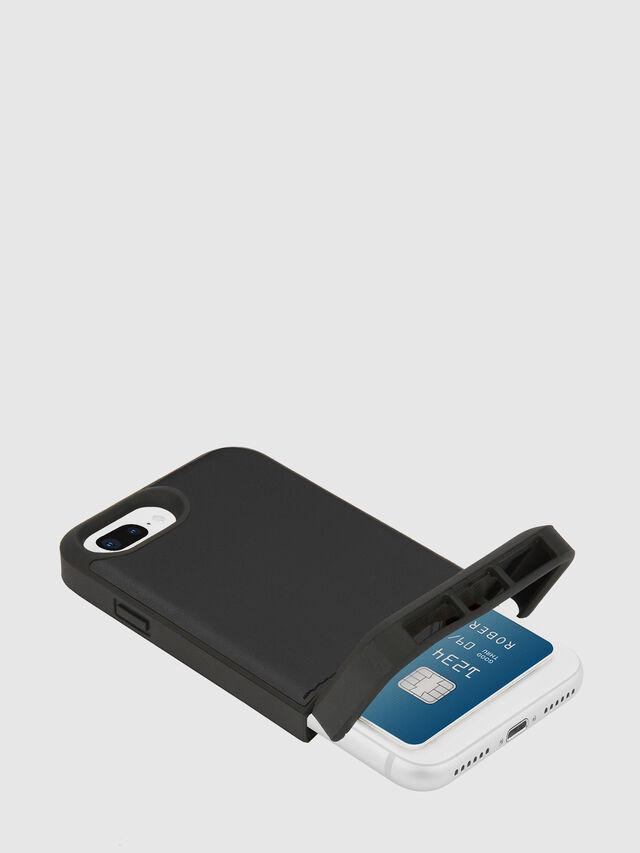 Diesel - CREDIT CARD IPHONE 8 PLUS/7 PLUS/6S PLUS/6 PLUS CASE, Nero - Cover - Image 2