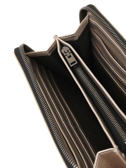 Diesel - GRANATO LC, Beige - Portafogli Con Zip - Image 3
