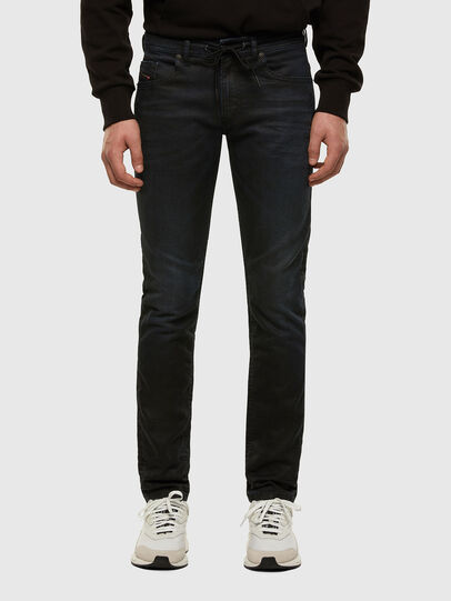 Diesel - Thommer JoggJeans 069NY, Blu Scuro - Jeans - Image 1