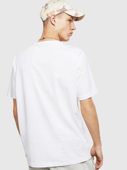 Diesel - T-JUST-POCKET-T17, Bianco - T-Shirts - Image 2