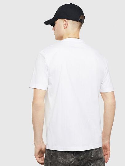 Diesel - T-JUST-T24, Bianco - T-Shirts - Image 2