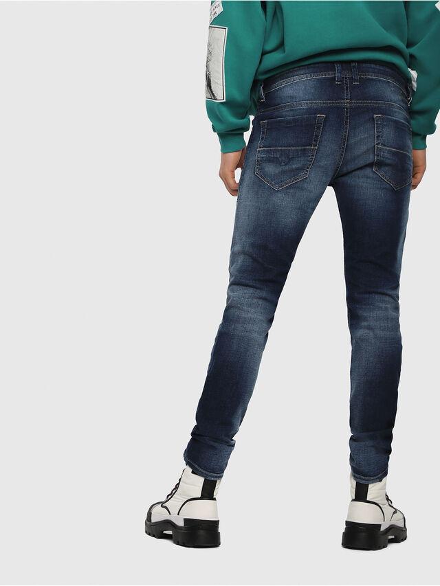 Diesel - Thommer 084GR, Blu Scuro - Jeans - Image 2